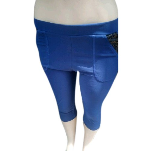 5288670e612375 Blue S-xxl Ladies Cotton Capri, Rs 150 /piece, S. Monga Textiles ...