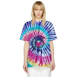 Premium Tie And Dye T Shirt in Polyester