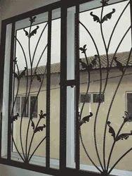 IRON DECORATIVE WINDOW GRILL