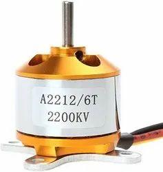 2200kva Bldc Motor (Gold) Brushless Motor, 12 V