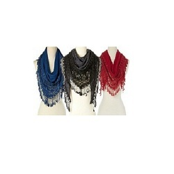 Colorful Lace Scarves