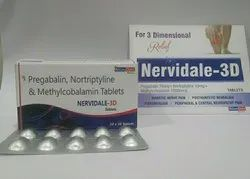 Pregabalin,Nortriptyline & Methylcobalamin Tablets