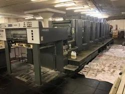 Used Heidelberg Bobst 102E 8 Color Offset Printing Machine