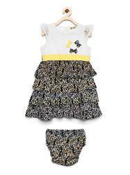 Female Multi Layered Kids Dress