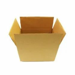 10x8x6 Inch Brown Packaging Corrugated 3 Ply Box