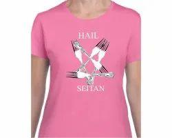 Ladies Printed To Shirts