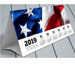 Cardboard Desk Calendar Template