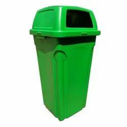 Sintex Green Plastic Dustbin, Capacity: 32 Liter