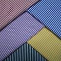 Poly Cotton Stripes Fabric