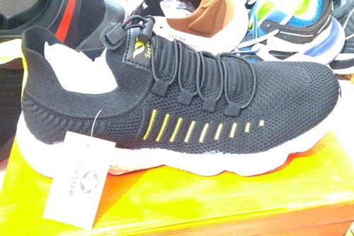 Black Sneakers Casual Shoes