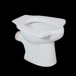 Closed Front P Trap White Toilet Seat, for Bathroom Fitting