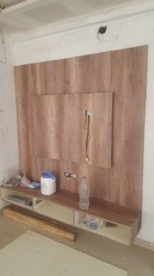 Wooden Wall TV Unit Cabinet