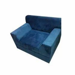 Blue Single Seater Designer Sofa, Seating Capacity: 1 Person