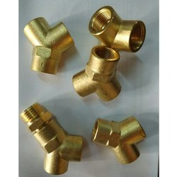 Brass Female Y Threaded Connector