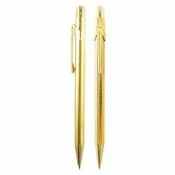 Golden Retractable Pen