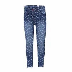 Stretchable Comfort Ladies Blue Denim Jeans, Packaging Type: Box, Waist Size: 28