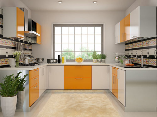 Good Modern Designer U Shape Modular Kitchen