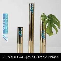 Titanium Gold Pipes