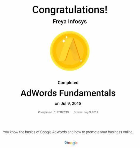 Google Adword Certification in Nanpura, Surat   ID: 19675380588