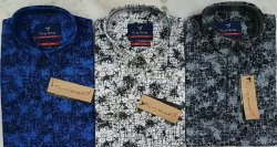 100 % Cotton Printed Men Shirts