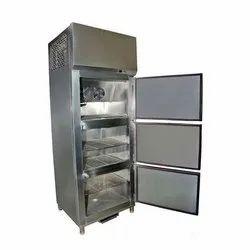 Stainless Steel Three Door Refrigerator