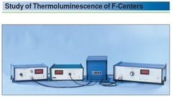 Study Of Thermoluminescence Of F-centers - TLX 02