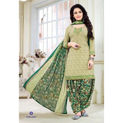 4e9dfda0ae Ladies Unstitched Printed Salwar Suit, Rs 400 /piece, Ambica ...