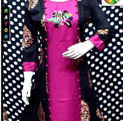 Woman Stitched Designer Kurti