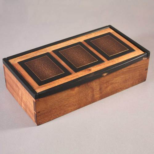 Brown Handcrafted Jewelry Boxes