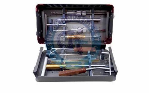 Hip Barrel Plate Instrument Set