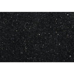 Black Galaxy Marble Slab, For Flooring & Countertops, Thickness: 15-20 mm