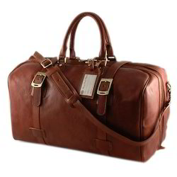 Brown Leather Duffel Bags