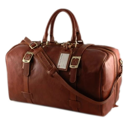 ebd80b2cc61f Brown Leather Duffel Bags