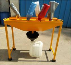 fresh oil recovery table