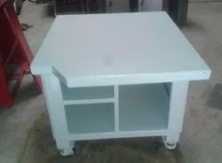 Stainless Steel White Inspection Table, For Industrial
