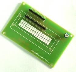 LCD Interfacing Board