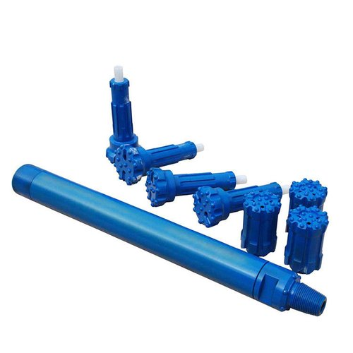 Carbide Steel Rock Drill DTH Hammer, For Water Well Drilling | ID