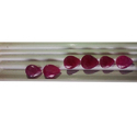 Ruby Pear Cut Stone