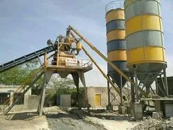 Concrete Bathing And Mixing Plant