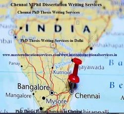 MPhil Dissertation Writing Services in Chennai