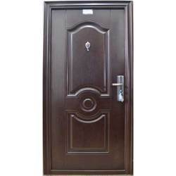 Robust Wood Finish Safety Door
