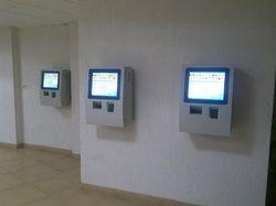 RFID Cafeteria Management Kiosk