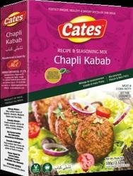 Cates Chapli Kabab Spices, Packaging: 100 gm