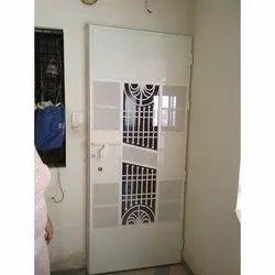 Home Mild Steel Single Door