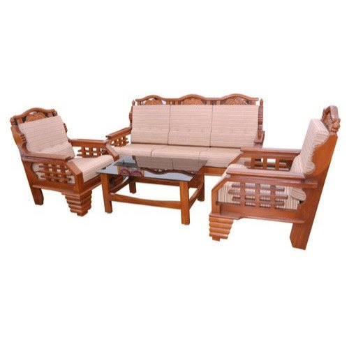 Teak Wooden Sofa, टीक सोफा - Brown Elephant Furniture, Chennai | ID: 14701537797