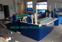 Automatic GIP-Taiwan Paper Preparation & Rewinding Machine, Capacity: 20-80m/p.mnt