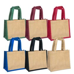 Jute Multicolour Bag