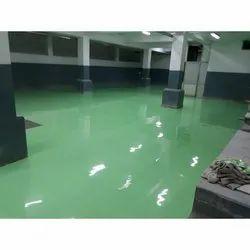 Green PU Flooring Service