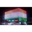 Acrylic And Aluminum Pixel Led Sign Board, Shape: Round And Rectangle