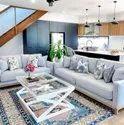 Sky Blue Lrf Sofa Set, Size: Contemporary, Model Name/number: Lrf343kk